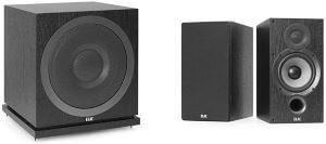 ELAC SUB3010 Powered Subwoofer, Bookshelf Speakers - Best Quality Bass